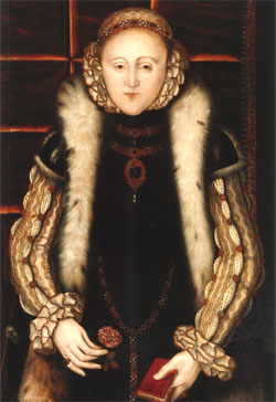 Princess Elizabeth, Henry VII's grand-daughter.