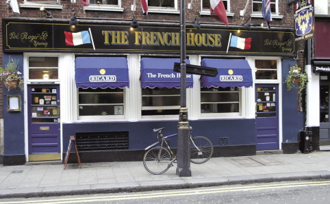 The French House in Soho.