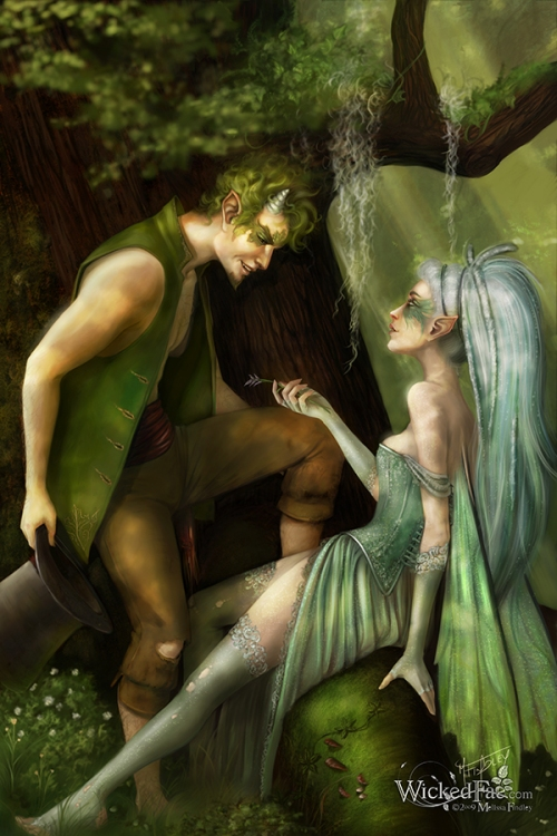 puck and fairy