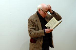 eddie reading his poems