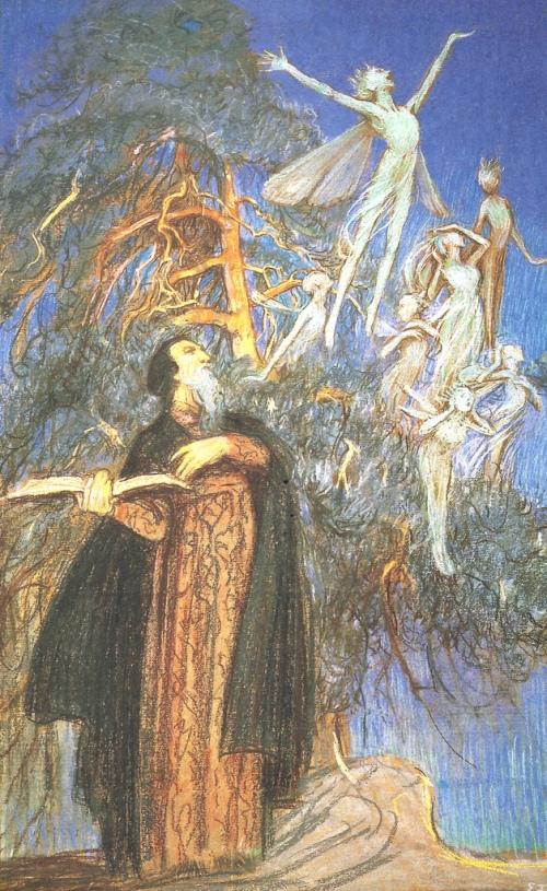 prospero and spirits