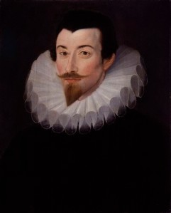 NPG 3121,Sir John Harington,attributed to Hieronimo Custodis
