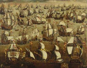 Armada sea-battle