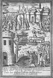 Execution of Edmund Jennings.