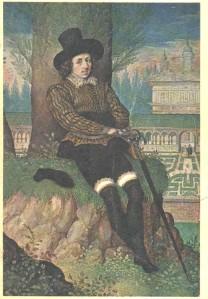 sir philip sidney in garden