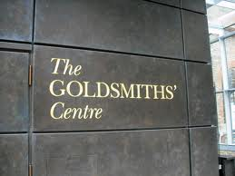 goldsmiths' centre plaque