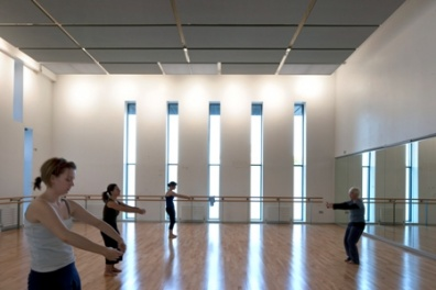 jerwood dance centre interior