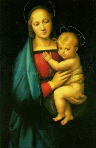 Virgin Mary raphael