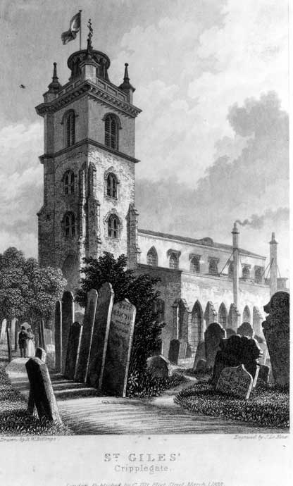 St. Giles, Cripplegate.
