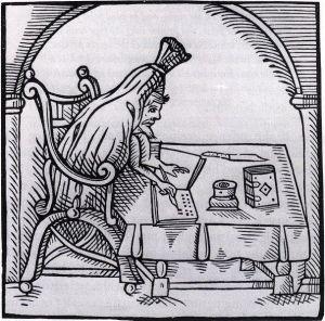 Robert Greene writing in his shroud...