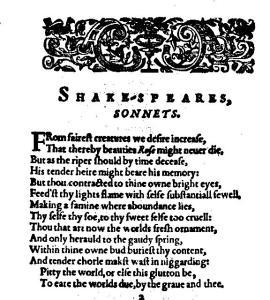 sonnet 1 old