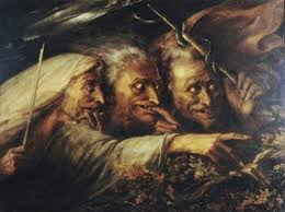 witches macbeth painting