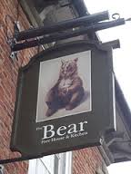 bear tavern sign