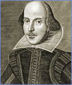 shakespeare bald