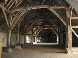 Great Barn in Titchfield: local legend has it that 'Romeo and Juliet' was first performed here.