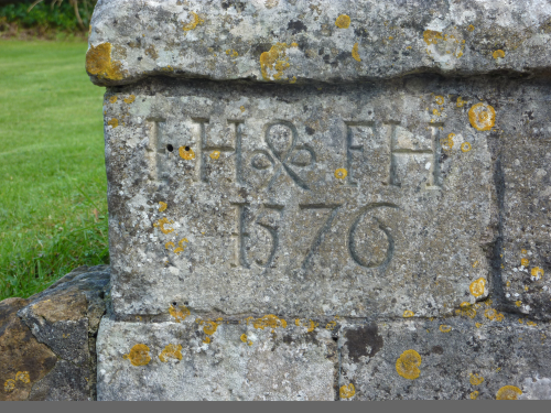 The Hodges Stone, Cerne Abbas, kindly supplied to The Code by George Mortimer.