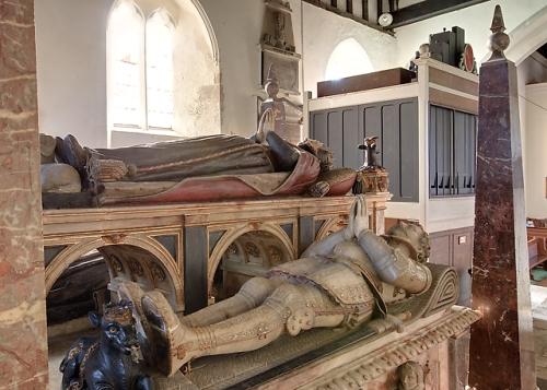 tomb 2nd earl southampton