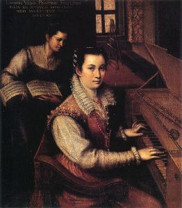 clavichord painting