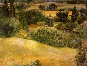 Cookham - painted by Stanley Spencer who was born there.