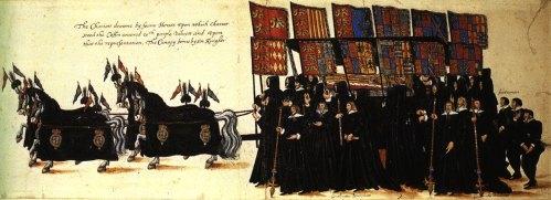 elizabeth's funeral