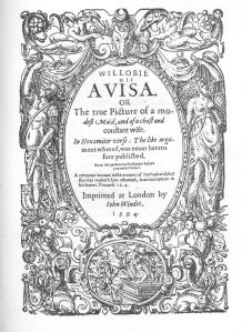 Willobie his Avisa frontispiece 001