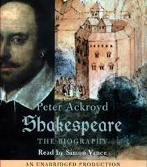 ackroyd shakespeare