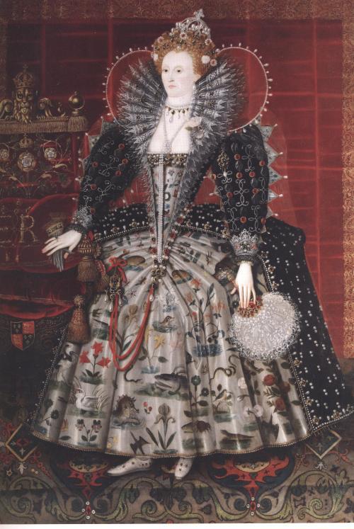 elizabeth, bess of hardwick's portrait 001