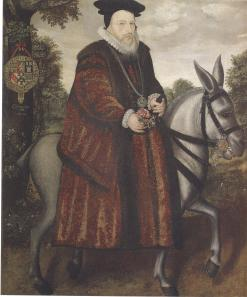 William Cecil, the Lord Burghley.