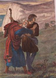 edgar leading gloucester to cliff