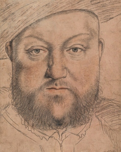 henry viii drawing