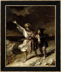 lear and fool in storm