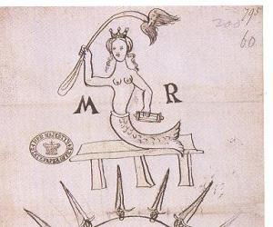 mary q. of. s. as mermaid