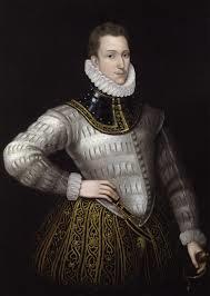 sidney sir philip hand on hip in white