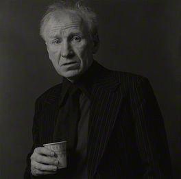 The photograph of the distinguished Glaswegian poet, Eddie Linden, F.S.C. now hanging in the National Portrait Gallery.