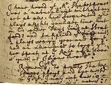 john ward's diary