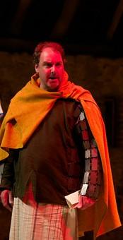 Stuart Hibbard as the Duke of Albany.