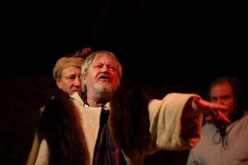 Stewart Trotter as King Lear. Lear production photographs by Tim Gulliford.