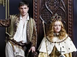 Ann-Marie Duff as Queen Elizabeth.