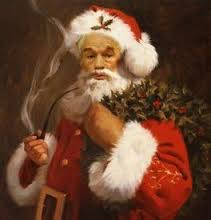 father christmas red