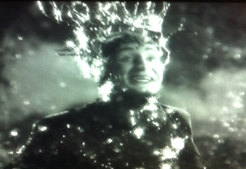 Victor Jory as Oberon.