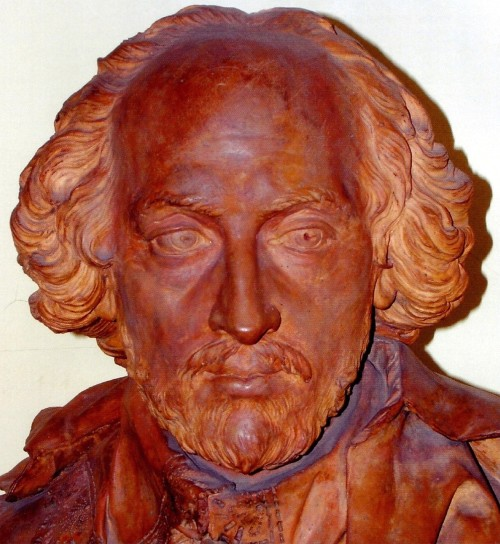 davenant bust shakespeare