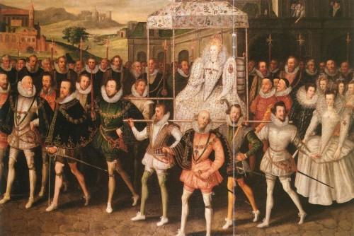 elizabeth procession