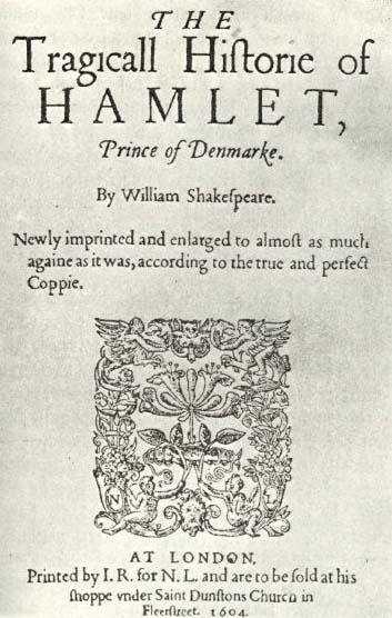 1604 Hamlet