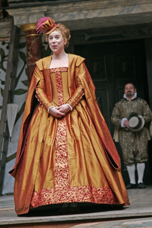 Michelle Terry as the Princess of France.