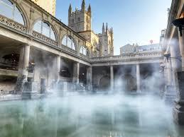 roman bath steaming