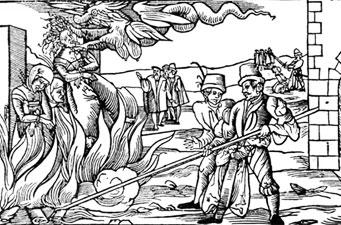 witches burnt at stake