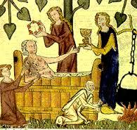 medieval bathing