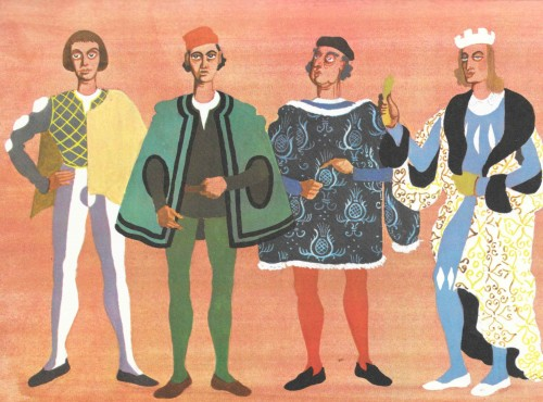 French Lords - designs by Osbert Lancaster.