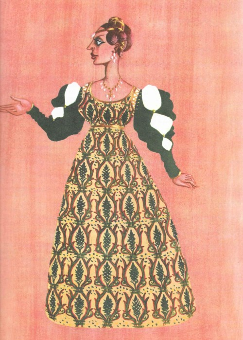 Helena - design by Osbert Lancaster.